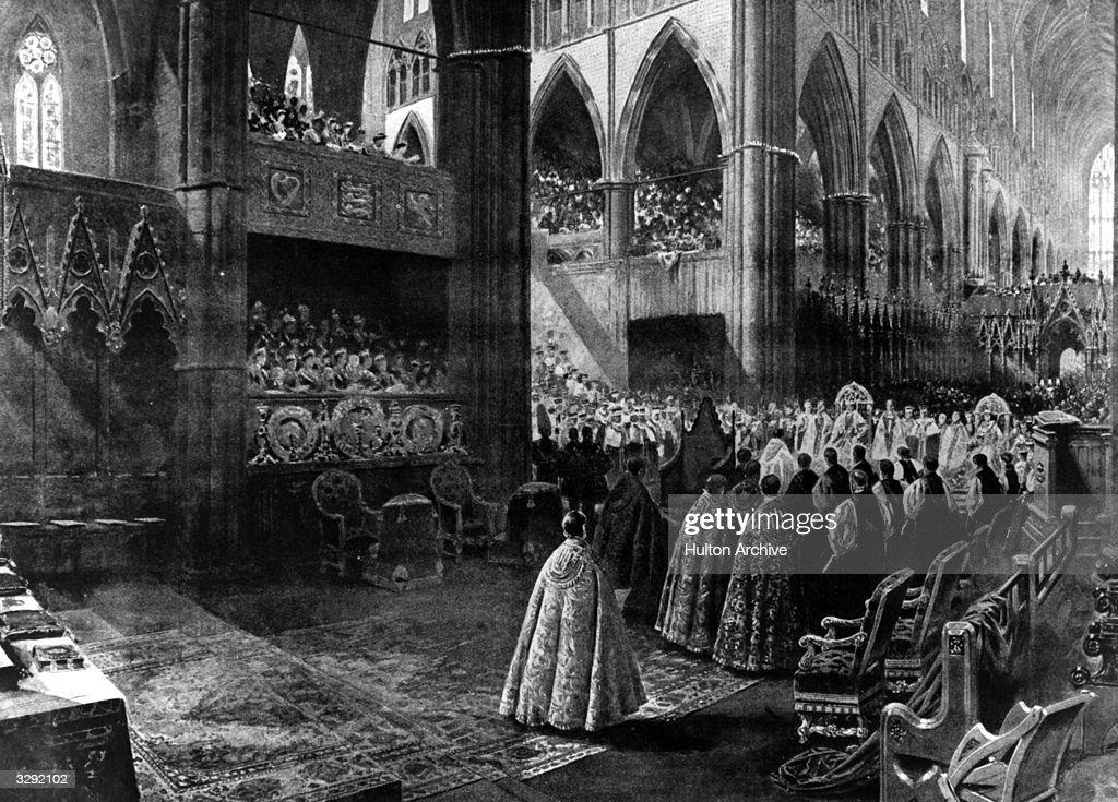 Coronation Scene : News Photo