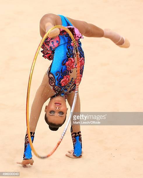 9th August 2012 London 2012 Olympic Games Rhythmic Gymnastics Individual AllAround Qualification Ulyana Trofimova