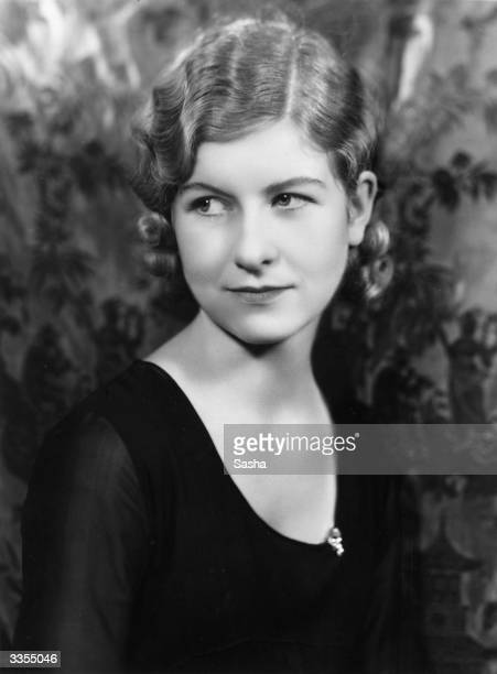 Actress Anne Bolt the 19 year old leading lady in 'The Toymaker of Nuremberg ' at the Kingsway Theatre London