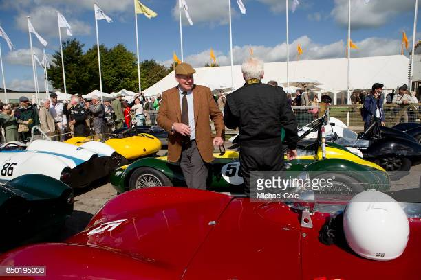 Derek Hood of JD Classics at Goodwood on September 9th 2017 in Chichester England