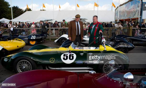 Derek Hood of JD Classics Nick Riley at Goodwood on September 9th 2017 in Chichester England