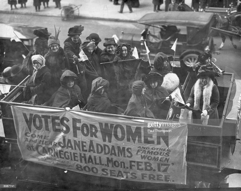 Votes For Women : News Photo