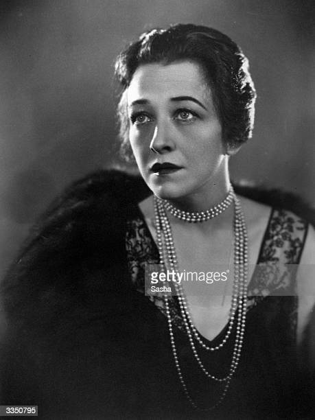 Silent film star Pauline Frederick Known for her role in Madame X