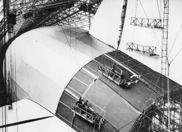 Zeppelin Factory Wall Art