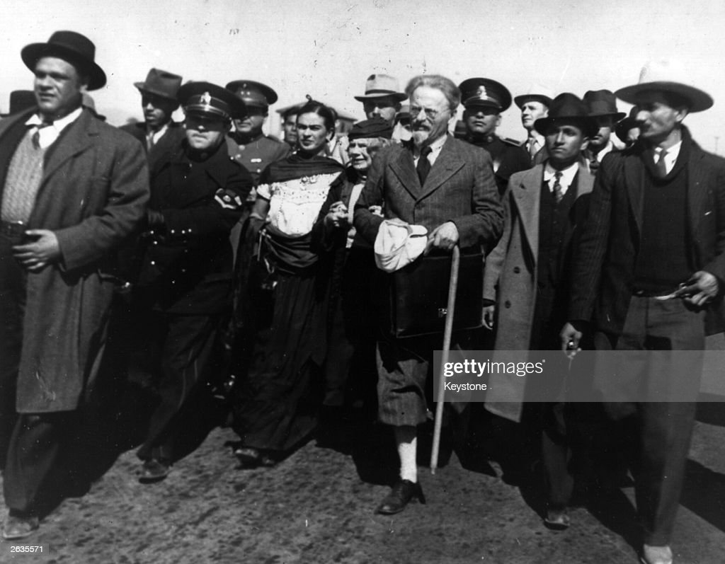 Trotsky In Mexico : News Photo