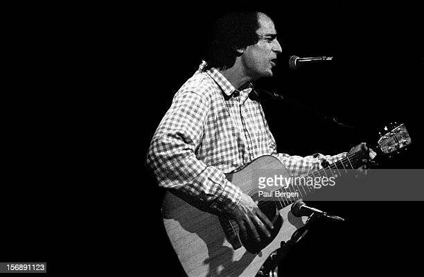 American singer and guitarist Alex Chilton performs live on stage at Paradiso in Amsterdam Netherlands on 9th January 1992