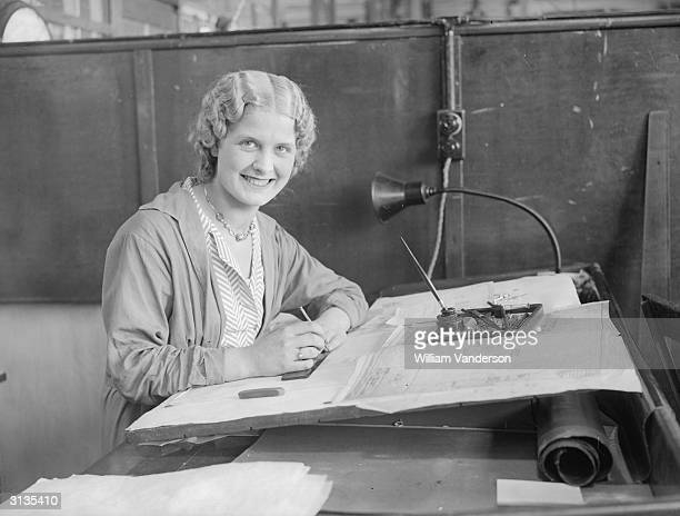 Miss Ethel Wood, a tracer at a local farm, who has been elected Queen of the forthcoming Willesden Carnival.