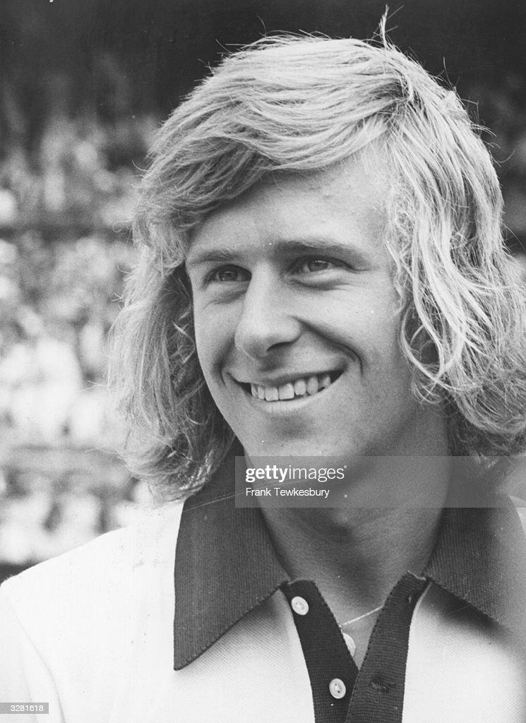 Swedish tennis champion Bjorn Borg.