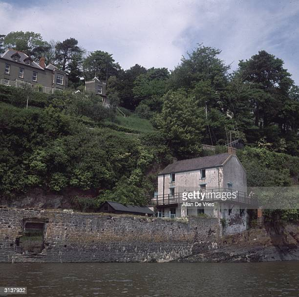 Dylan Thomas's cottage in Laugharne Wales
