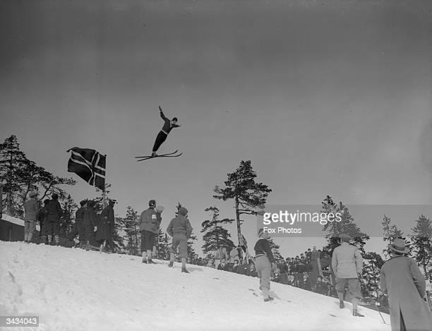 World skiing championships at Holmerkollen