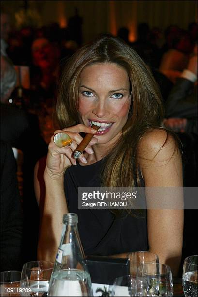 9Th Night Of The Cigar Lover On December 6 2003 In Paris France Laurence Treil