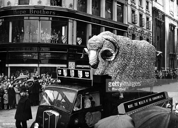 The Lord Mayor of London is a wool merchant and the float in the procession carries a 15ft high model of a merino ram symbolising wool as the wealth...