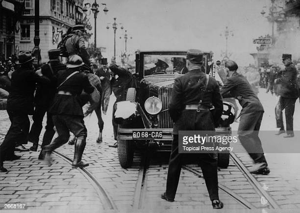 The assassination of King Alexander Karadjordjevic I of Yugoslavia , and the French Foreign Minister Jean-Louis Barthou in Marseilles. The assassin...