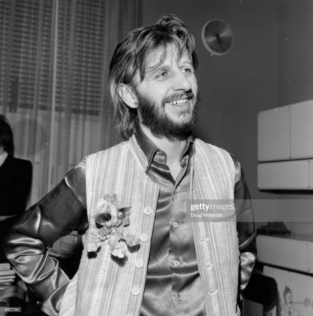 Ringo Starr Born Richard Starkey Drummer With The Beatles