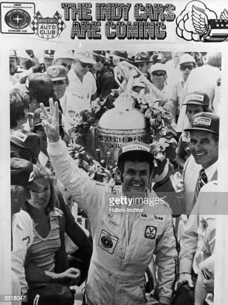 American Indy car racing champion Al Unser