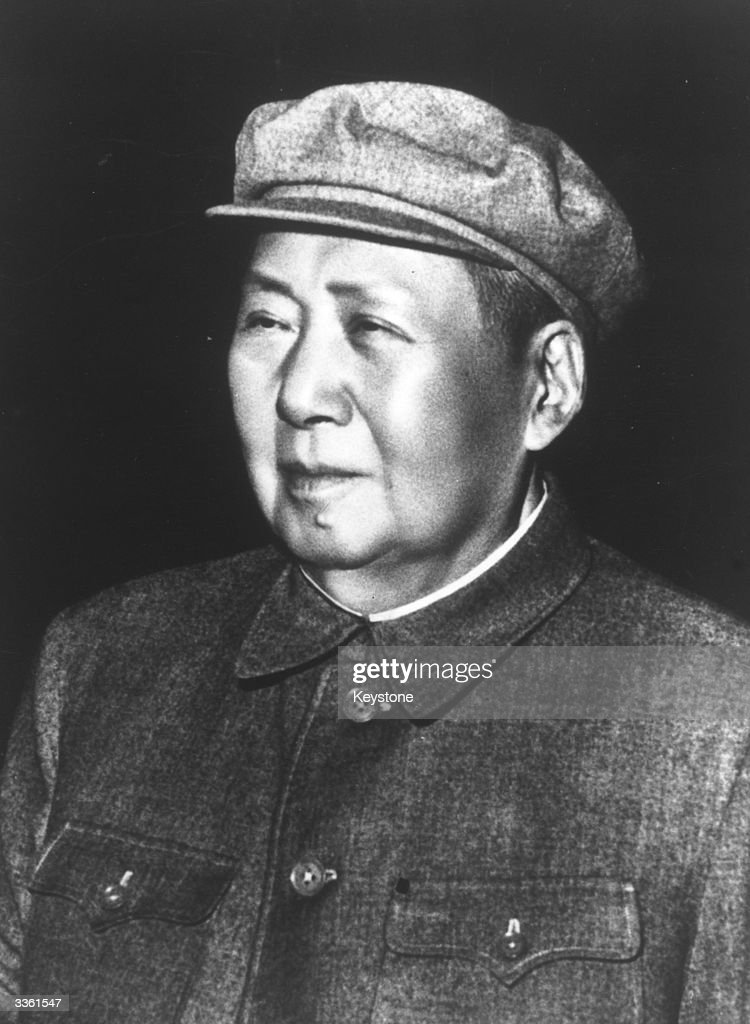Mao Tse Tung (1893 - 1976), Chinese Communist leader who was chairman of the Communist party of China and the principal founder of the People's Republic of China.