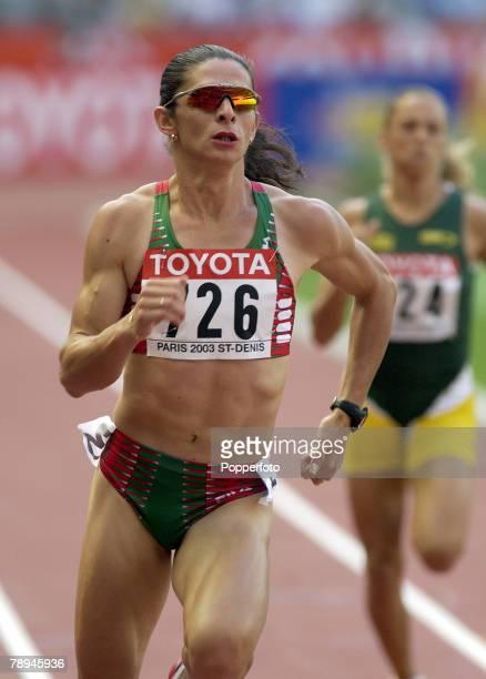 9th World Championships in Athletics Paris France 24th August 2003 Womens 400m Heats Ana Guevara Mexico