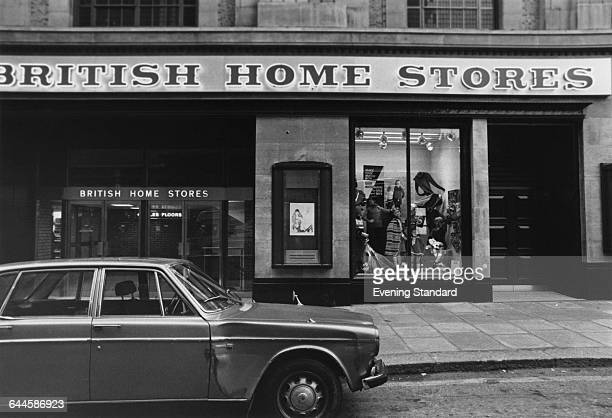 a branch of the British Home Stores department store chain on the ground floor of the former Derry Toms building on Kensington High Street on its...