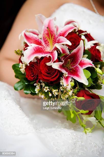 a bride's bouquet