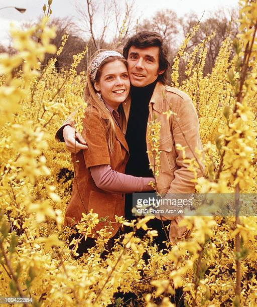 BERNIE a CBS situation comedy featuring Meredith Baxter and David Birney Image dated 1972