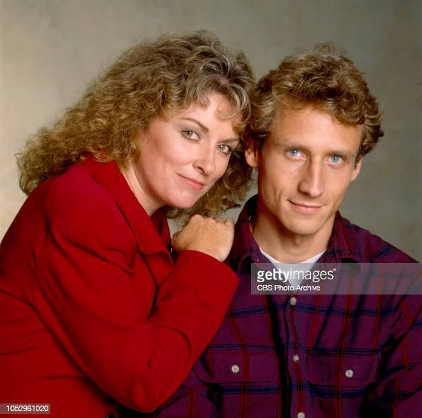 TV 101 a CBS television drama series about a high school journalism class November 1 1988 Los Angeles CA Pictured is Brynn Thayer and Sam Robards
