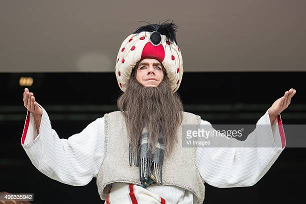 a character of The Efteling at the stand during the Dutch Eredivisie match between PSV Eindhoven and FC Utrecht at the Phillips stadium on November 8...