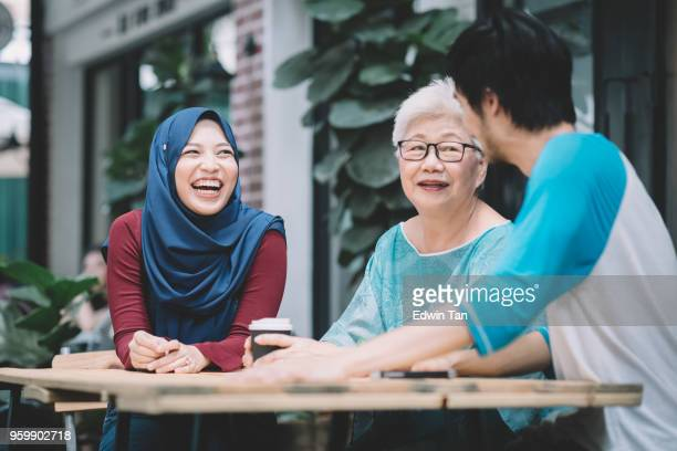 a chinese son introduce his malay girlfriend to his mother for the first time