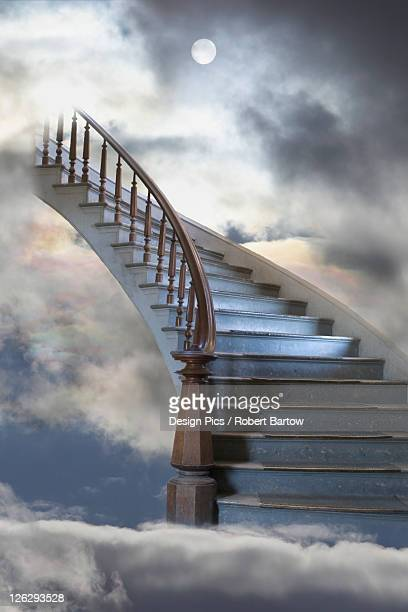 a composite entitled staircase