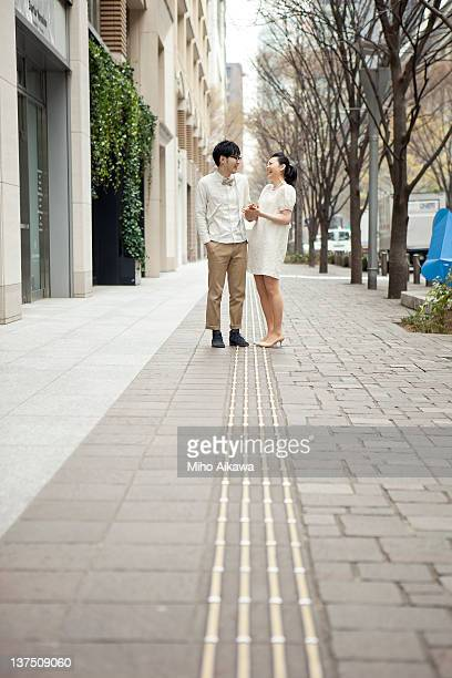 a couple in tokyo
