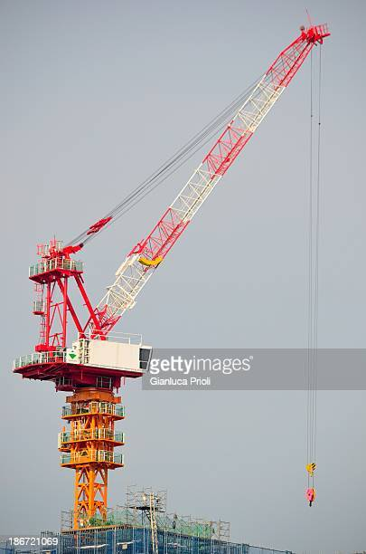 CONTENT] a crane for building construction in action at KobeJapanengaged in the construction of a new skyscraper