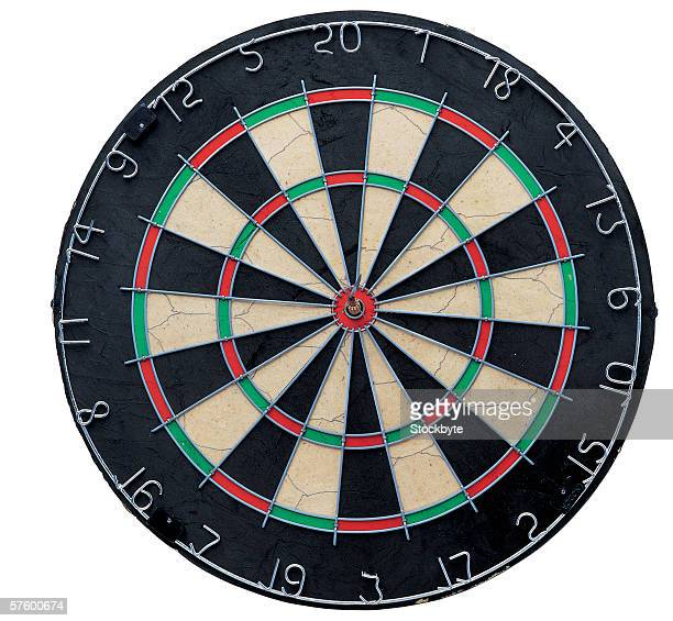 a dart board - dartboard stock pictures, royalty-free photos & images