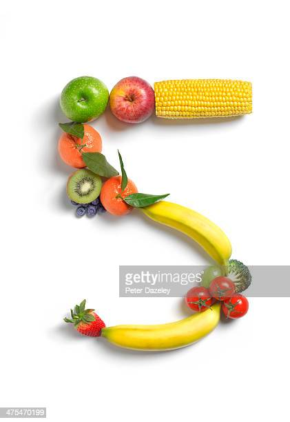 5 a day fruit and vegetable