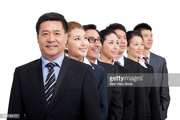 a group of business men - men stockfoto's en -beelden
