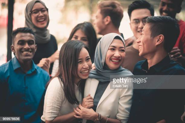 a group of young adults gathering - south east asia stock pictures, royalty-free photos & images