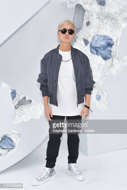 a guest attends the Dior Homme Menswear Spring Summer 2020 show as part of Paris Fashion Week on June 21 2019 in Paris France