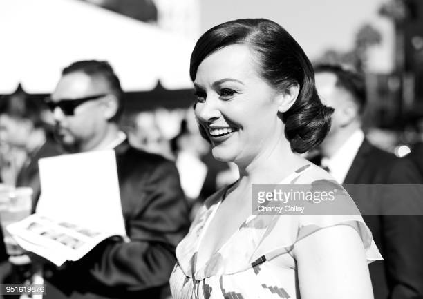 a Host Alicia Malone attends The 50th Anniversary World Premiere Restoration of 'The Producers' Opening Night Gala and Robert Osborne Award at the...