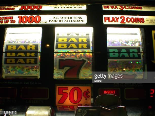 a jackpot machine in the casino