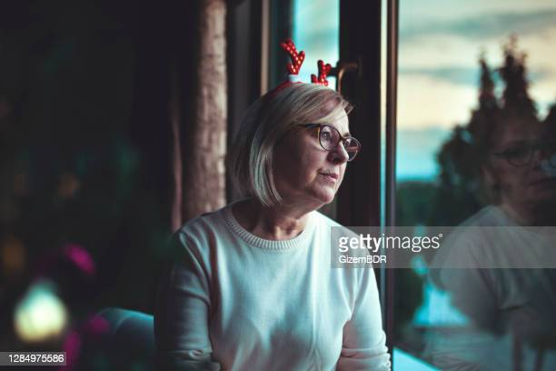 a lonely christmas - loneliness stock pictures, royalty-free photos & images