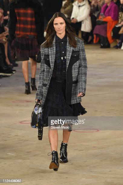 A model walks the runway at Coach 1941 fashion shoe at the NYSE on February 2019 during New York Fashion Week on February 12, 2019 in New York City.