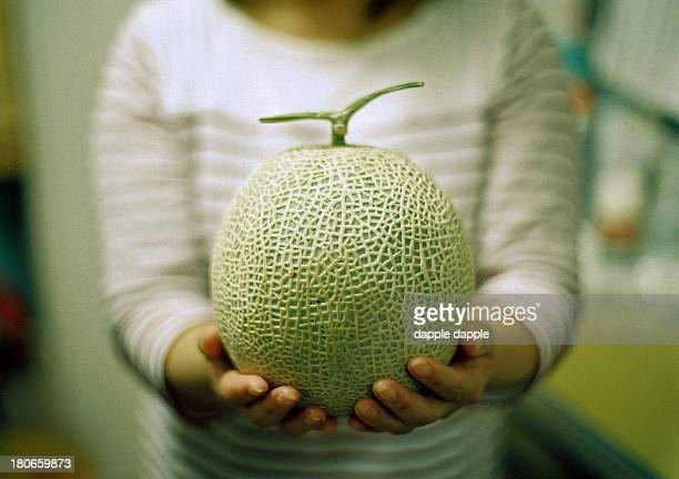 a muskmelon - muskmelon stock pictures, royalty-free photos & images