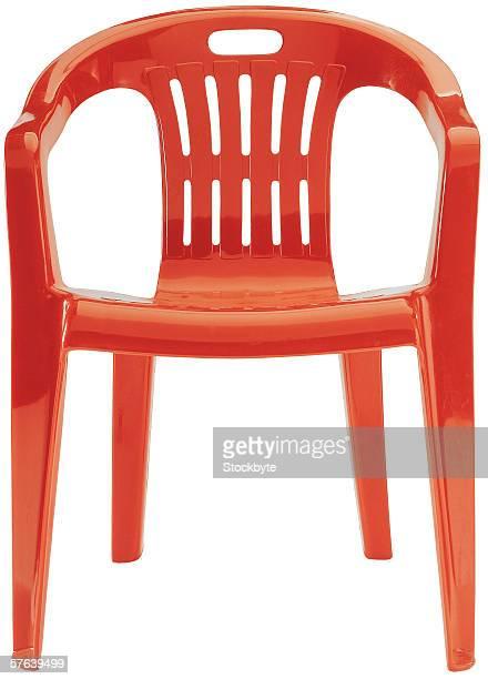a plastic chair