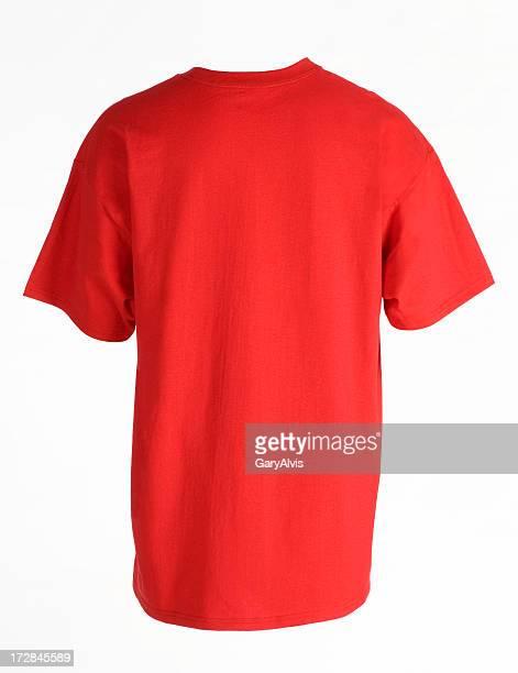 背面のショット、半袖シャツ