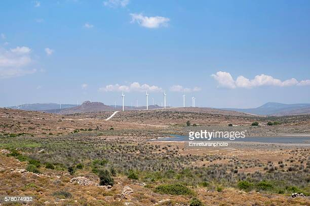 a scenery from zeytineli,cesme - emreturanphoto fotografías e imágenes de stock