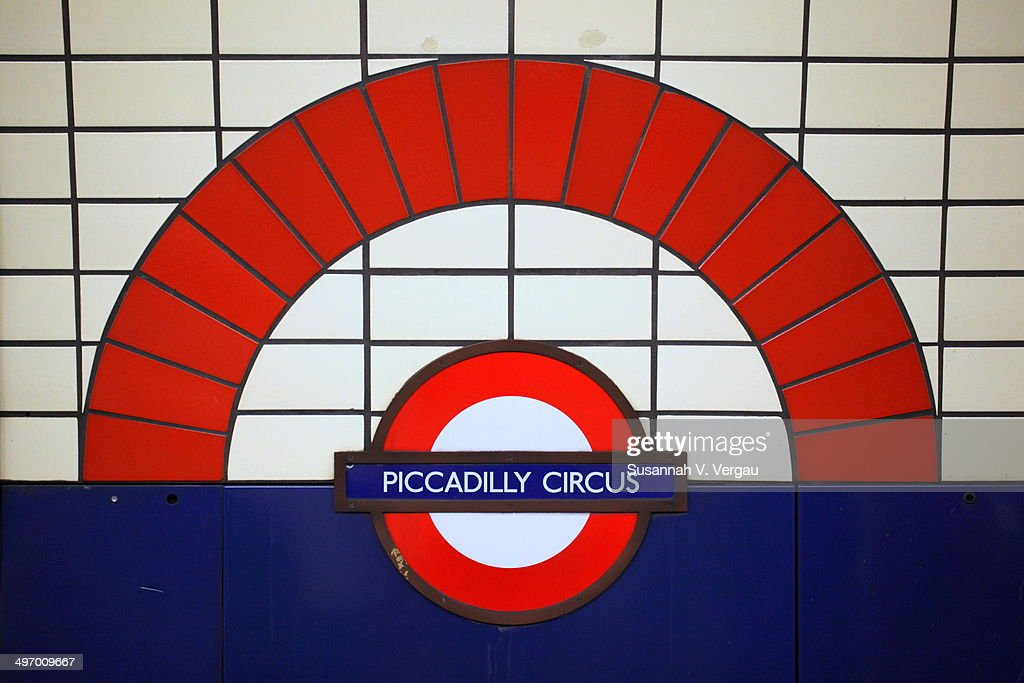 Piccadilly Circus Tube Station Pictures Getty Images