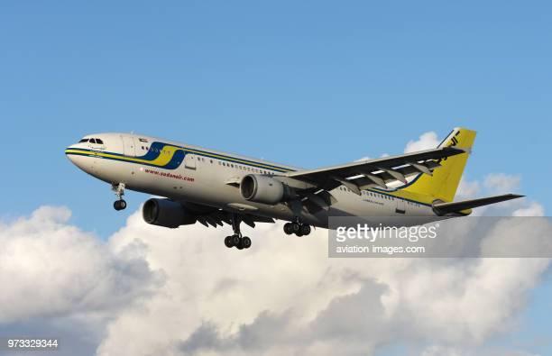 a Sudan Airways Airbus A300622R on finalapproach