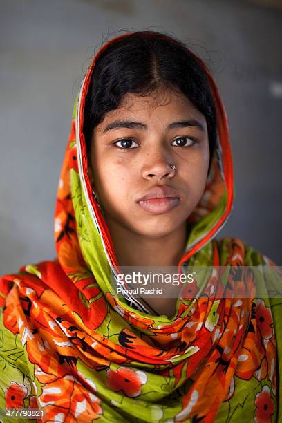 a survivor of the Rana Plaza building collapse having treatment in a hospital in Savar During the incident she was working on the 6th floor of the...