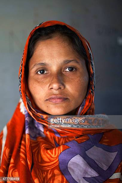 a survivor of the Rana Plaza building collapse havng treatment in a hospital at Savar During the incident she was working on the 6th floor of the...
