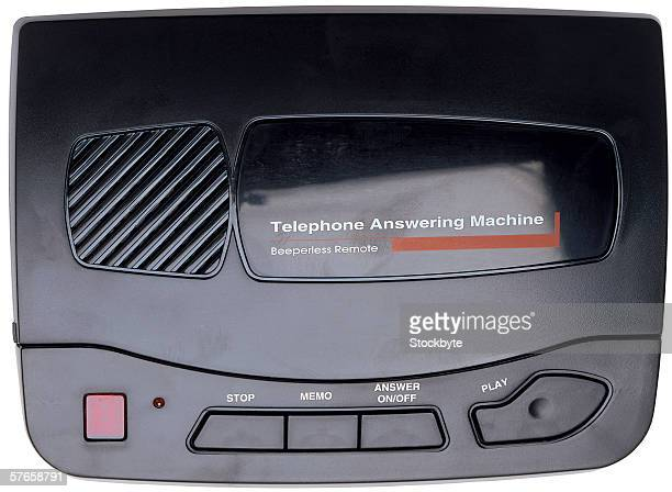 a telephone answering machine
