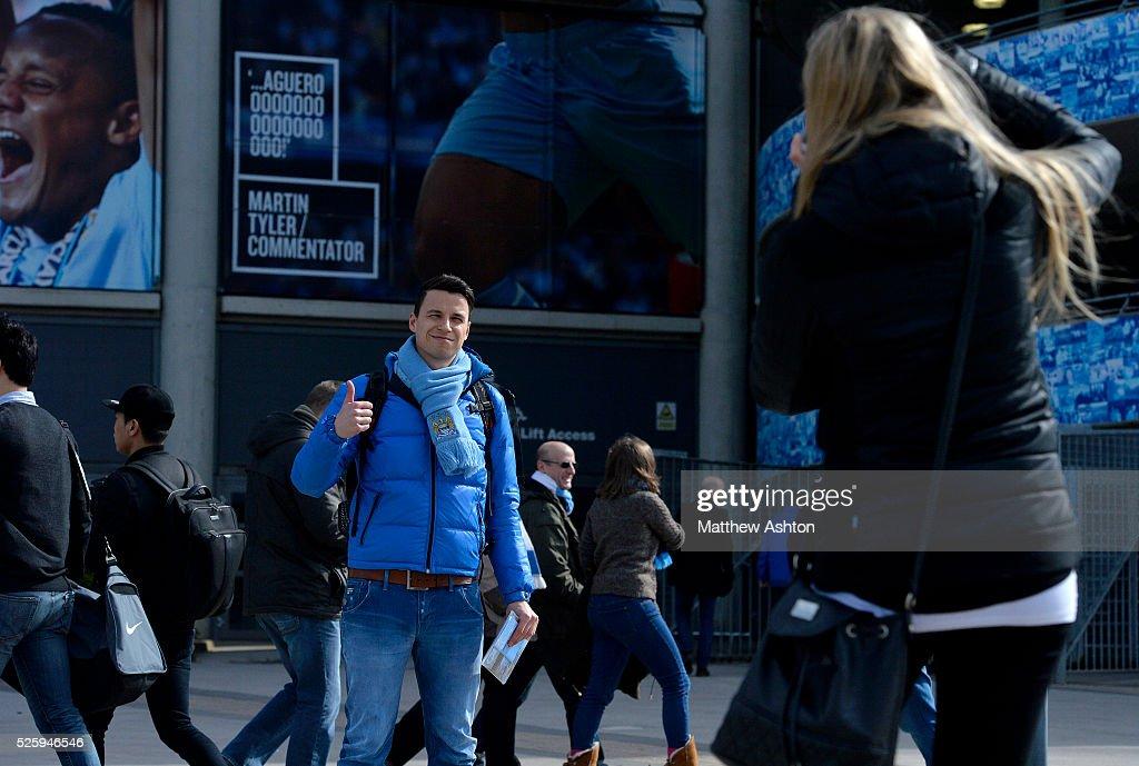 Soccer : Barclays Premier League - Manchester City v West Bromwich Albion : News Photo