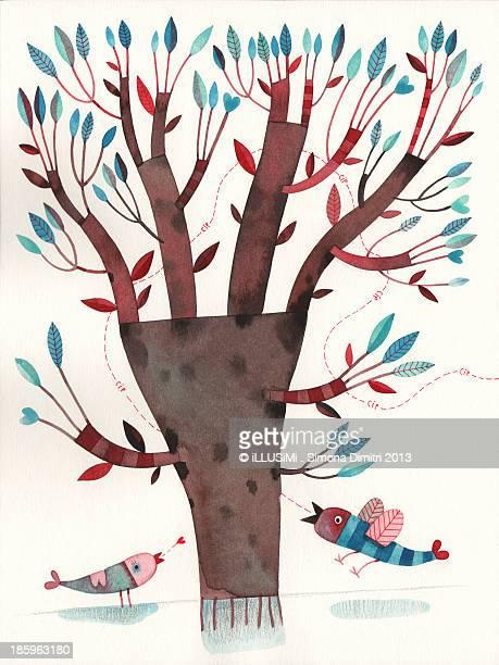 a tree - simona dimitri stock-fotos und bilder